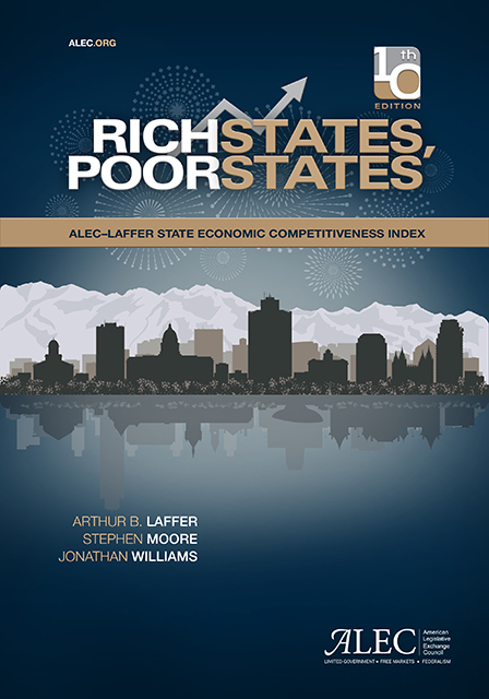 Publication cover for Rich States, Poor States, 10th Edition