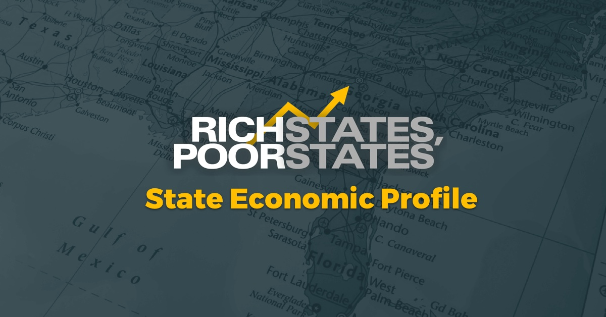 West Virginia - State Economic Profile - Rich States, Poor States