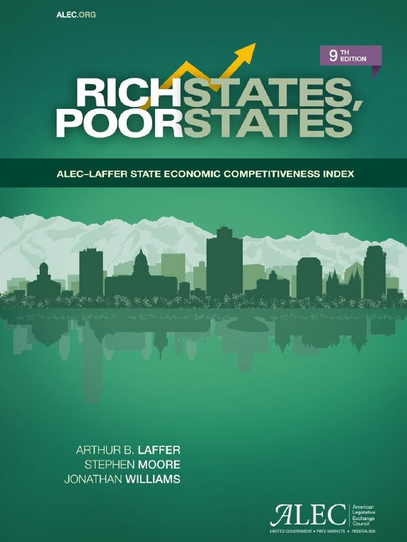 Publication cover for Rich States, Poor States, 9th Edition