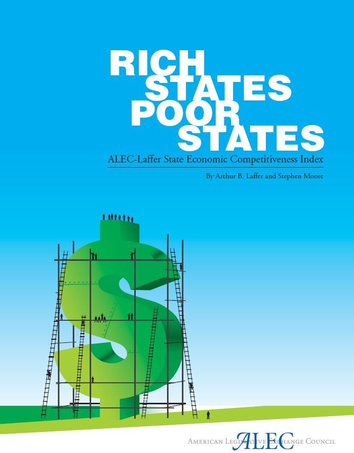 Publication cover for Rich States, Poor States, 1st Edition
