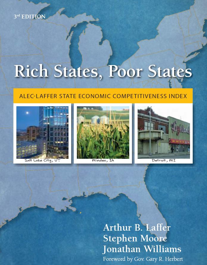 Publication cover for Rich States, Poor States, 3rd Edition