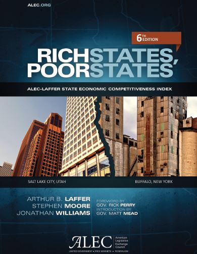 Publication cover for Rich States, Poor States, 6th Edition