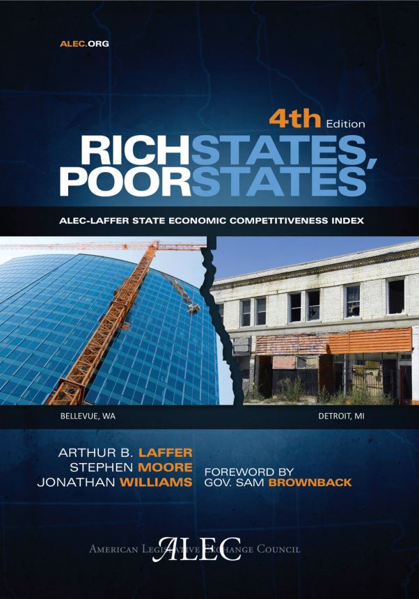 Publication cover for Rich States, Poor States, 4th Edition