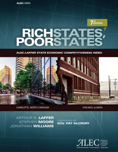 Publication cover for Rich States, Poor States, 7th Edition