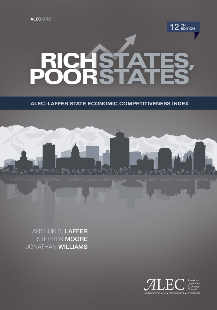 Publication cover for Rich States, Poor States: 12th Edition